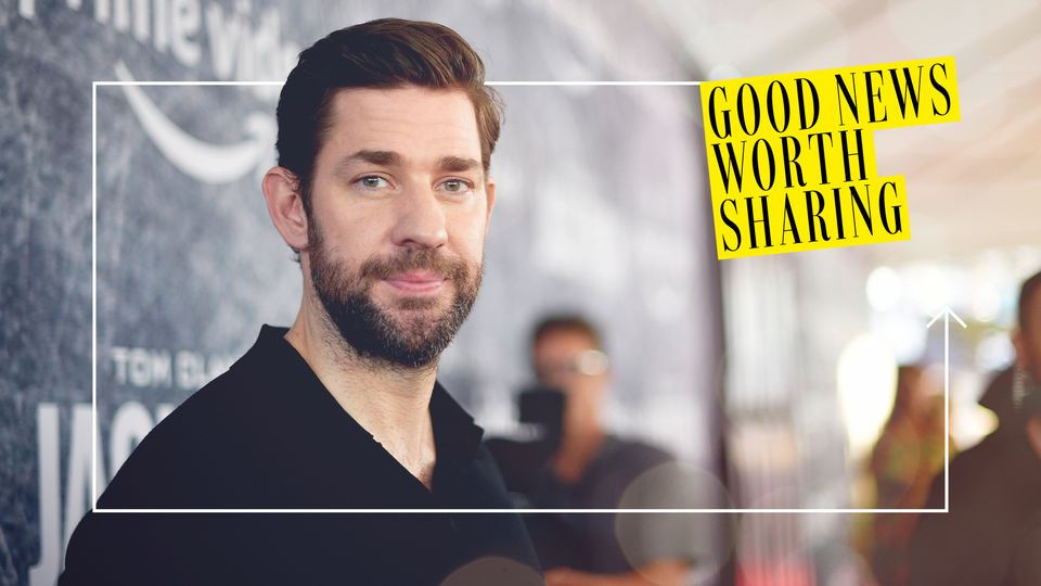 Good News Worth Sharing: John Krasinski Has Started A YouTube Series Highlighting Good News Around The World And It's Hilarious