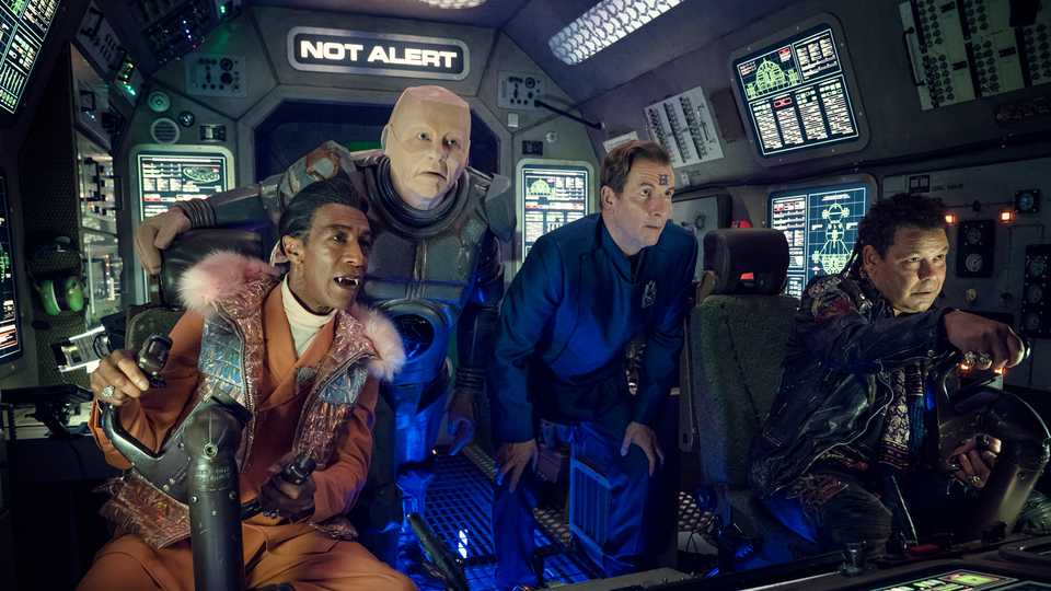 Pilot TV Podcast #80 – Red Dwarf: The Promised Land, Alma's Not Normal, And (Not) Killing Eve