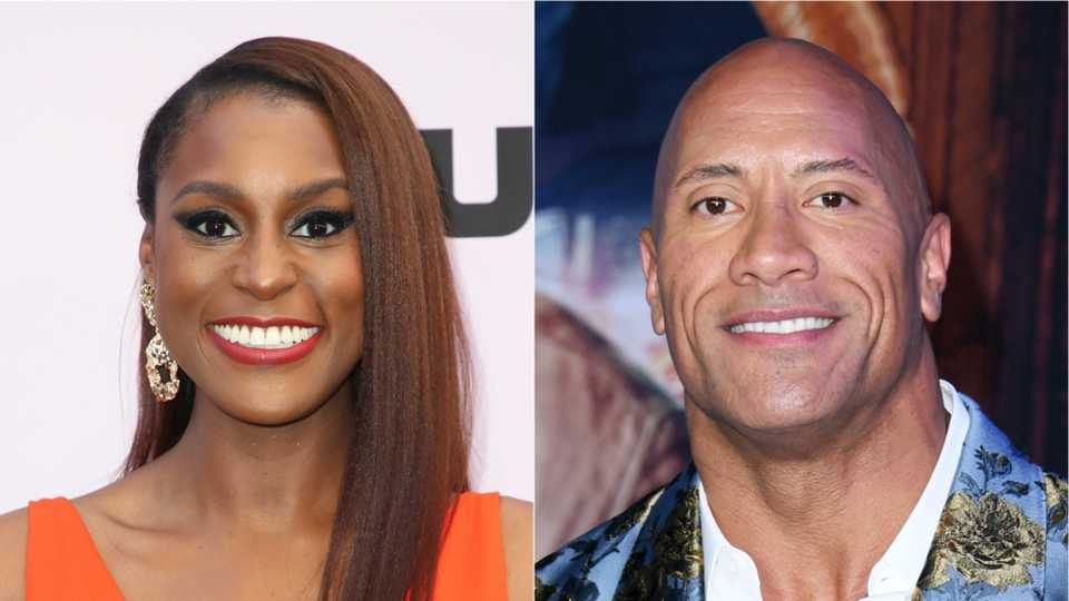 Dwayne Johnson And Issa Rae Plan Backyard Wrestling Series