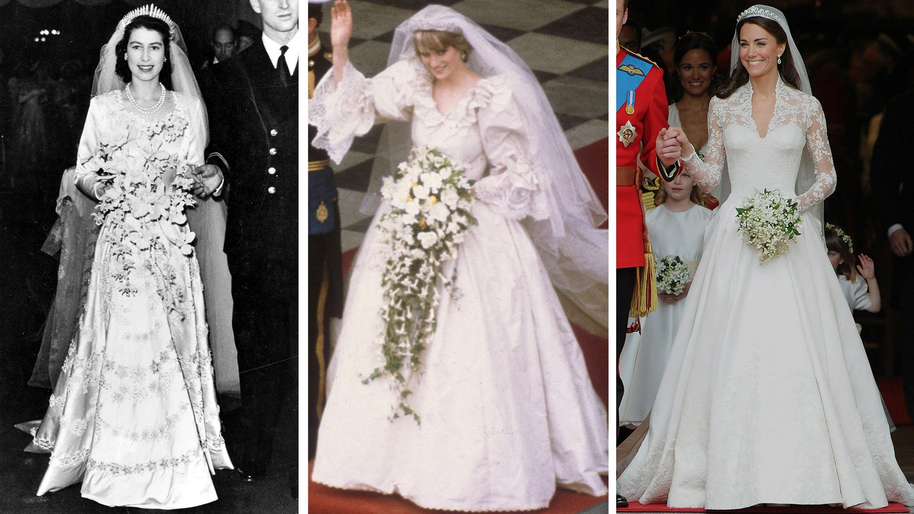 royal bridal style evolution from queen victoria to the duchess of cambridge grazia royal bridal style evolution from