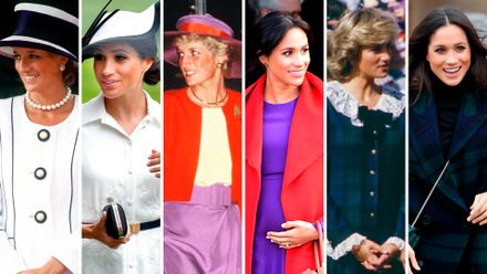 15 times meghan markle s wardrobe was inspired by princess diana grazia princess diana