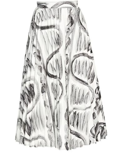 Thebe Magugu, Cave Drawing Pleated Skirt, £495