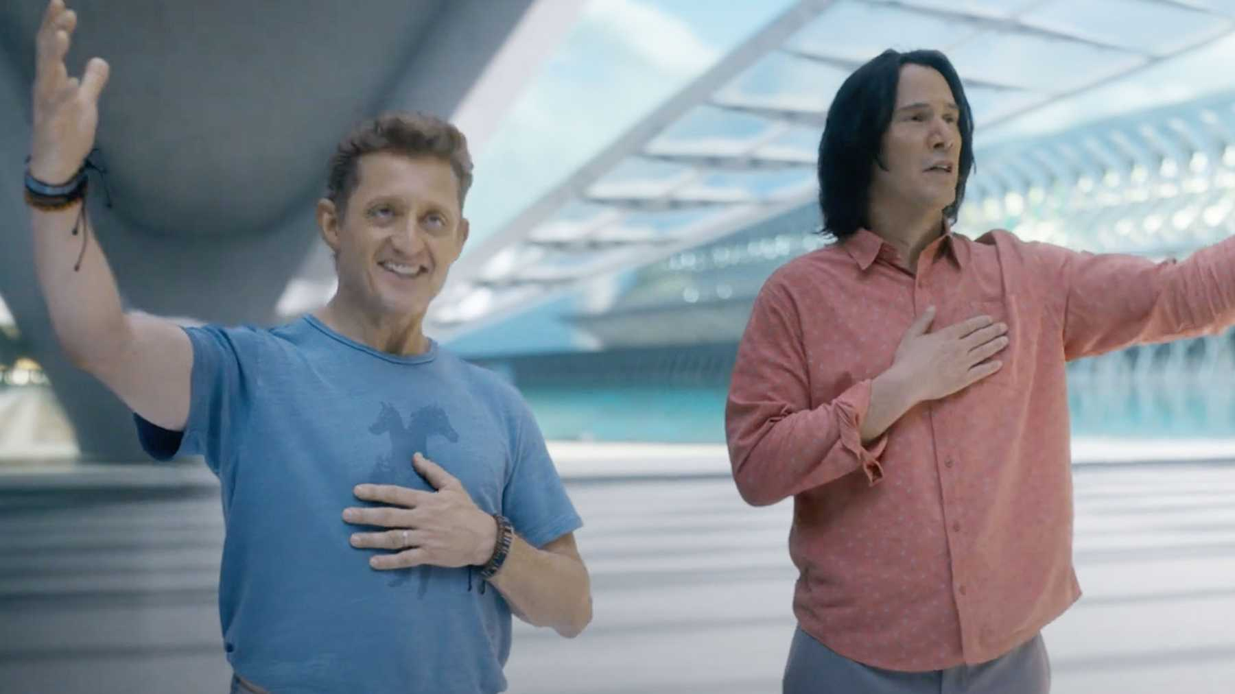 Bill And Ted Face The Music Trailer: Keanu Reeves And Alex Winter ...
