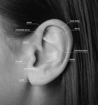 Ear Piercings Absolutely Everything You Need To Know Grazia