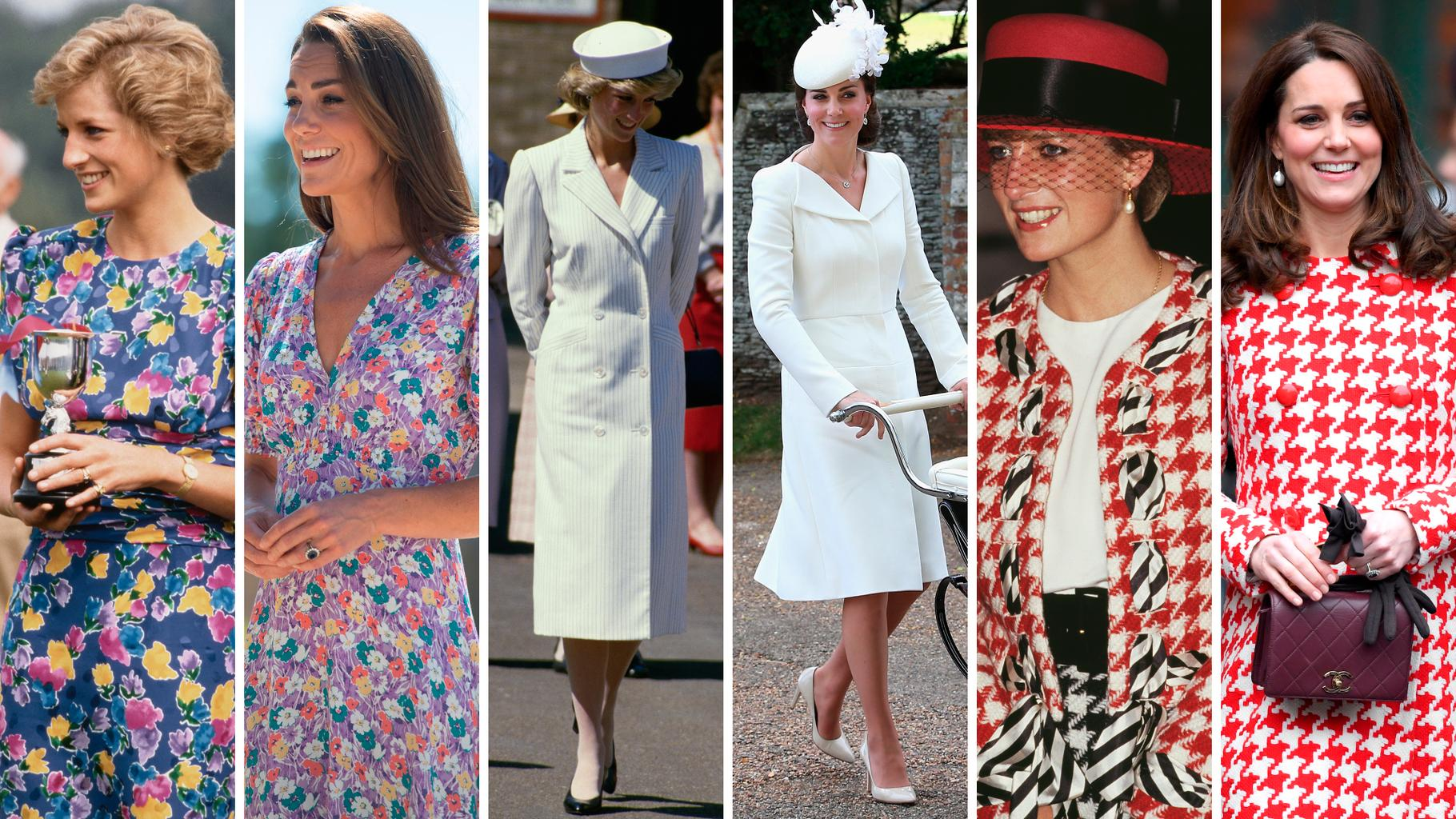 All Of The Times Kate Middleton Took Sartorial Inspiration From Princess Diana | Grazia