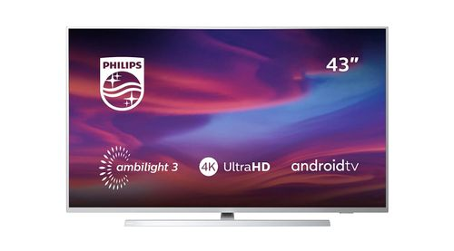 Top 10 40 inch smart tv under 500 - Philips 43PUS7304/12 43-Inch 4K UHD Android Smart TV with Ambilight
