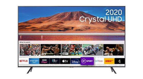 Top 10 40 inch smart tv under 500 - Samsung 50 inch TU7110 HDR Smart 4K TV with Tizen OS