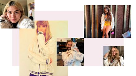 Forget The Squad It S Time To Meet Taylor Swift S Cardigan Crew Grazia
