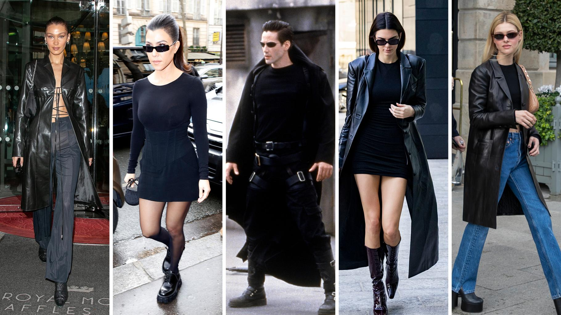 Image result for Monochrome Matrix fashion outfit