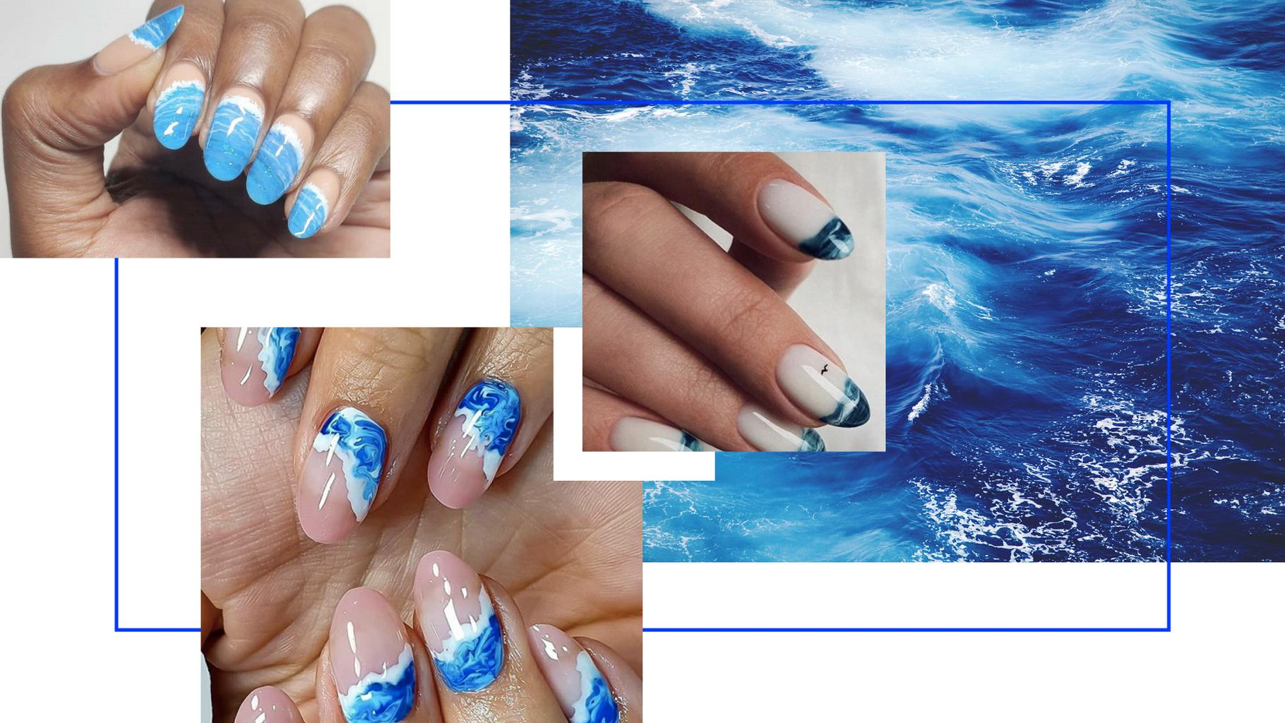 Ocean Nails Have Taken Nail Art To The Next Level And We're ...