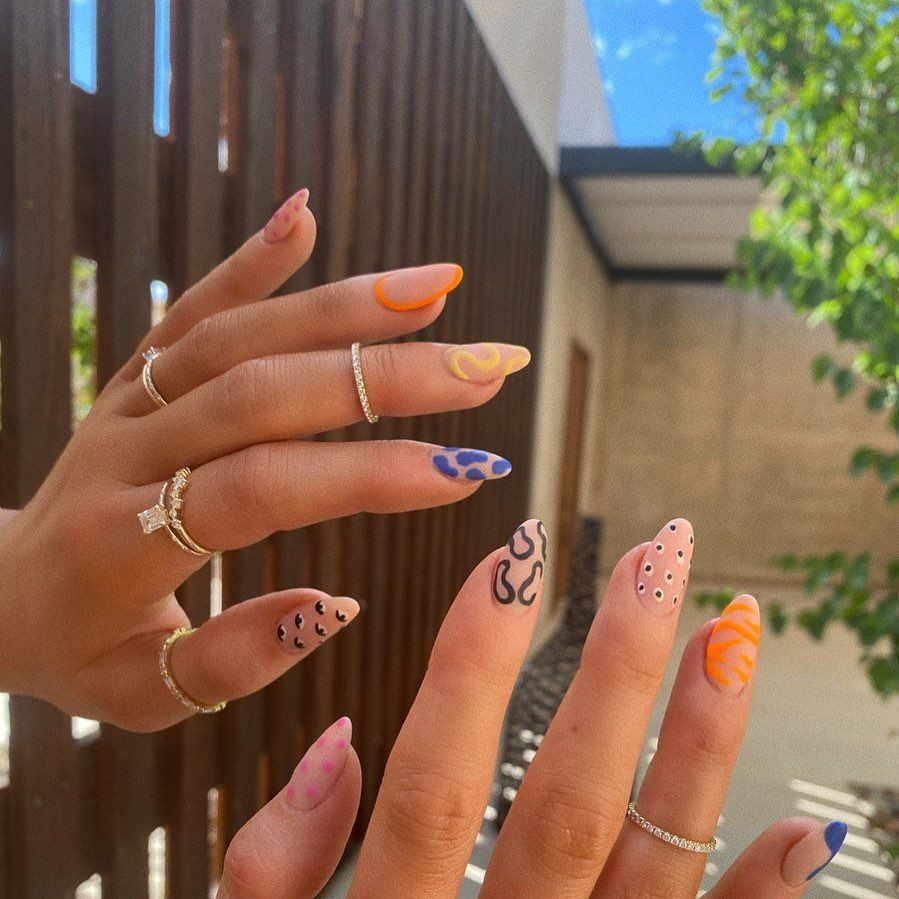 The Best Celebrity Nail Art To Take All The Mani Inspo From   Grazia