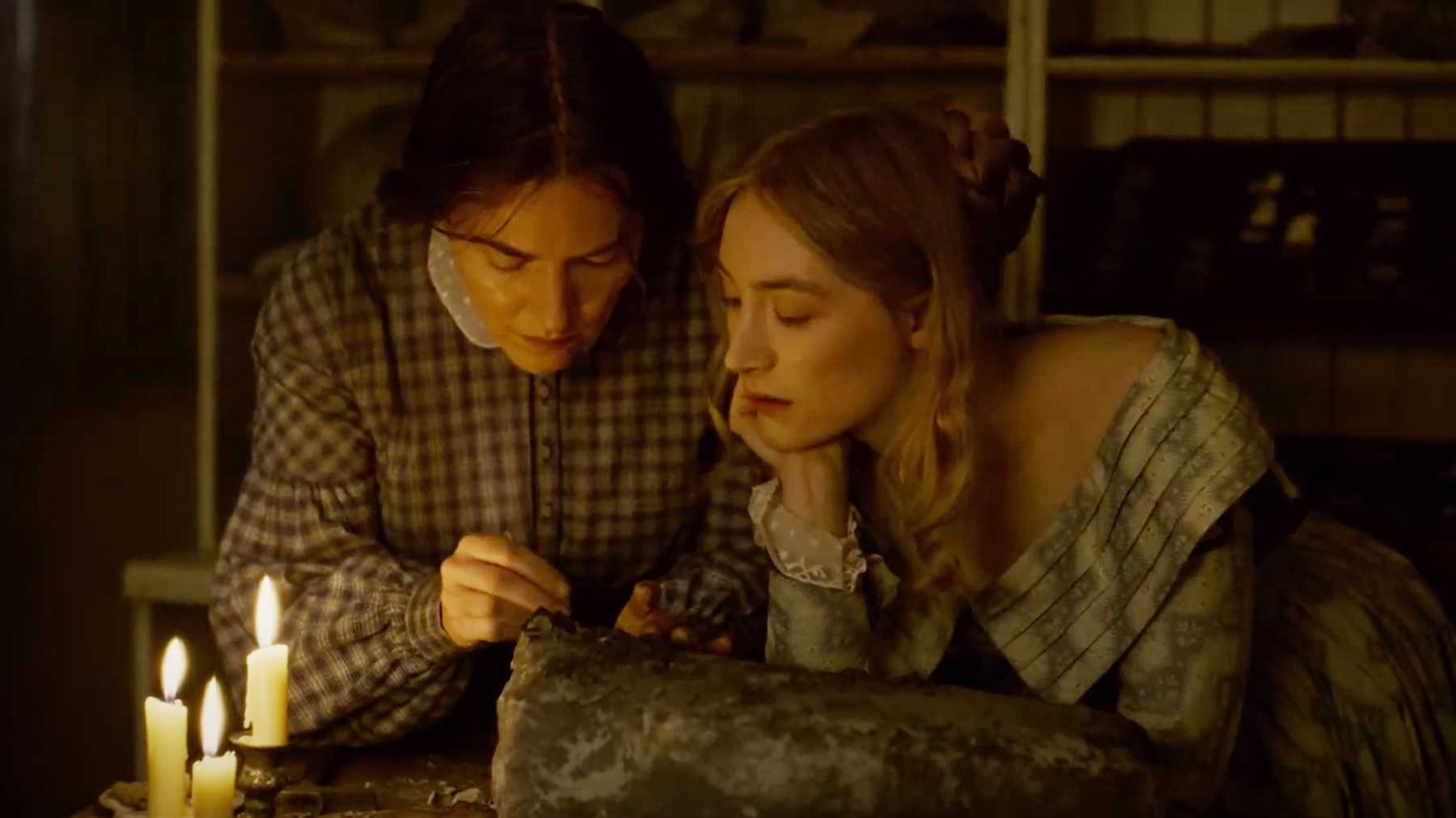 Ammonite Trailer: Kate Winslet And Saoirse Ronan Find Love And Fossils   Movies   Empire