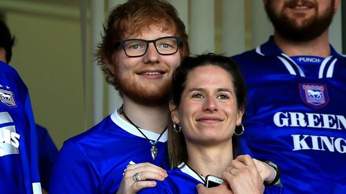 Ed Sheeran y Cherry Seaborn