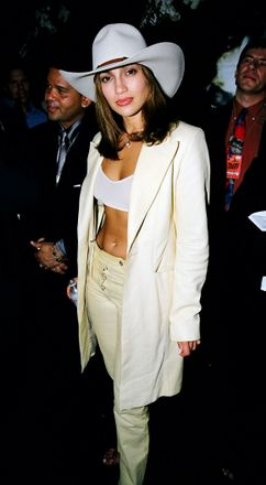 JLo at 1998's MTV Music Awards