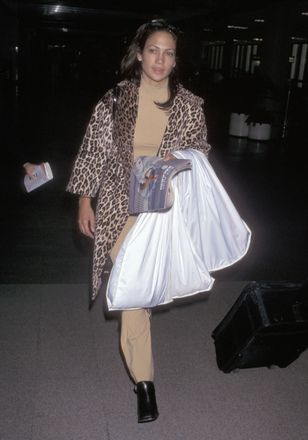 JLo at LAX in 1997