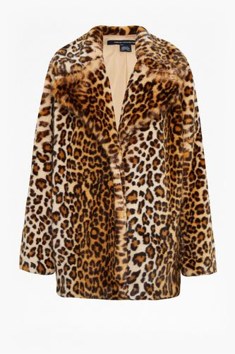 French Connection, Leopard Print Faux-Fur Coat, £185