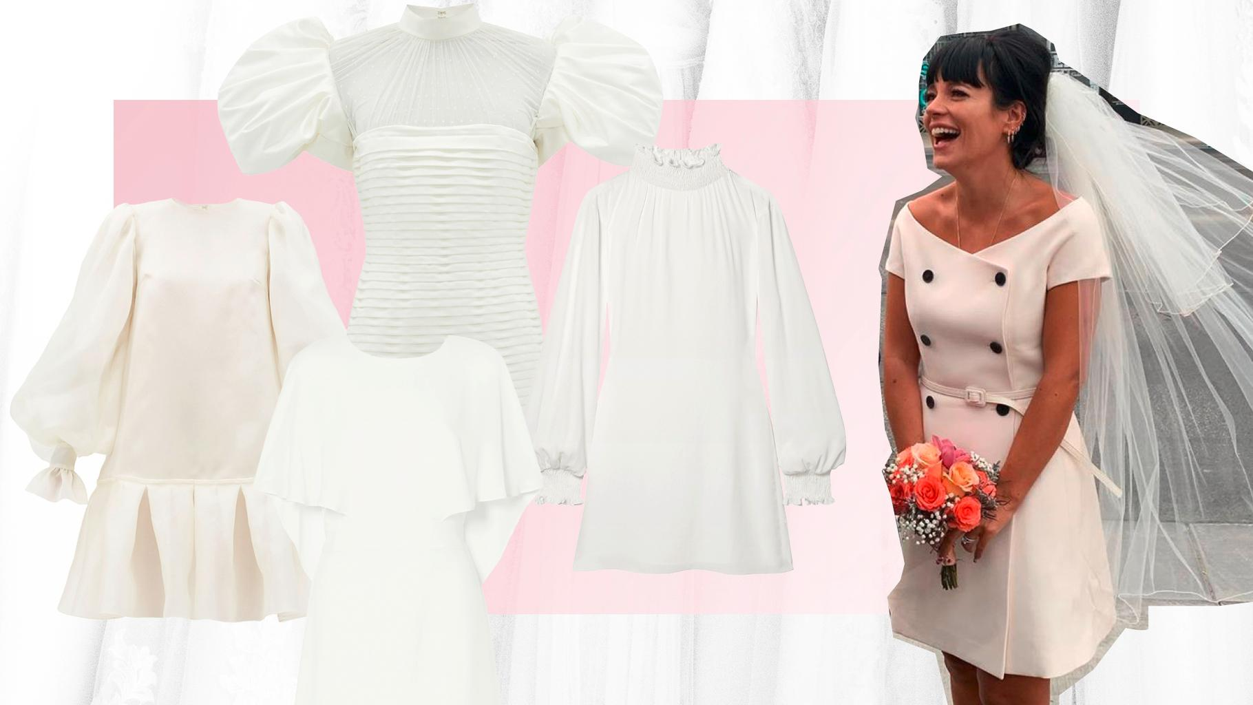 Why Lily Allen S Little White Wedding Dress Is A Total 2020 Bridal Mood Grazia