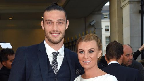 Andy Carroll y Billi Mucklow