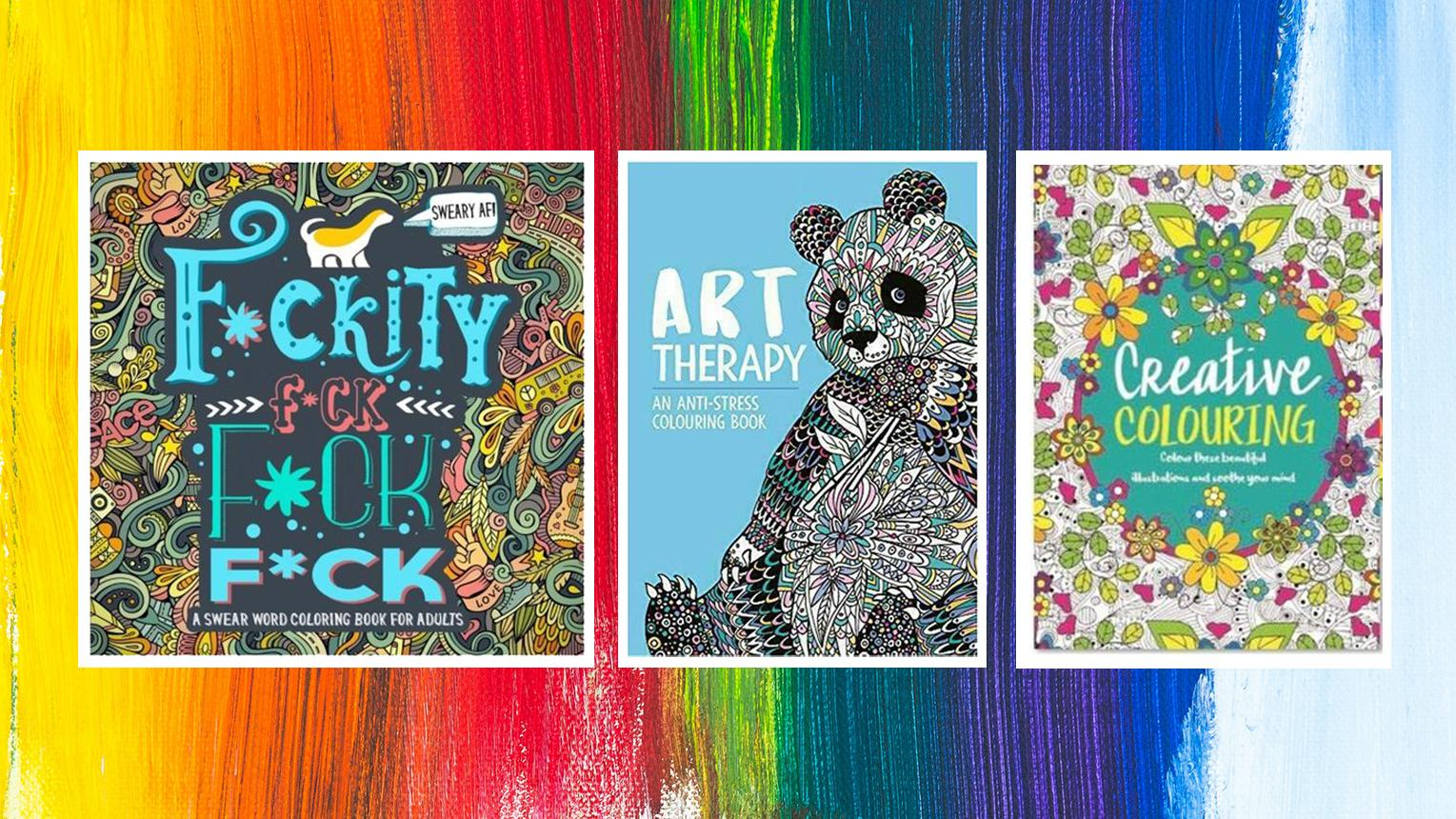 The Best Adult Colouring Books Lifestyle What's The Best