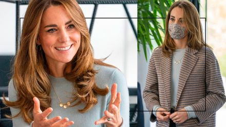 what s behind kate middleton s hair switch up grazia what s behind kate middleton s hair