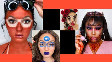 All The 2020 Halloween Make Up Inspiration You Need Rn From Zoom Face To Spider Eyes Grazia