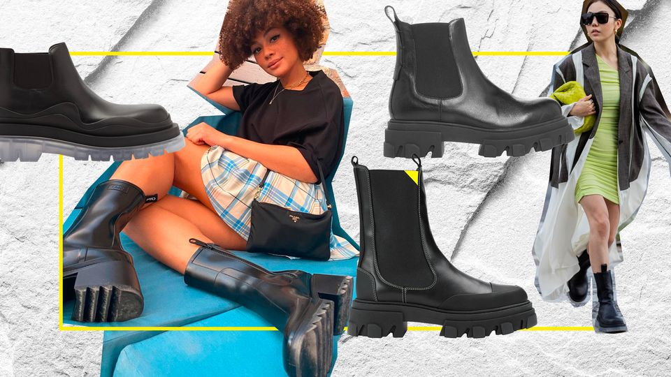 Stash Away Your Ballet Pumps, It's Officially The Season Of Stomper Boots