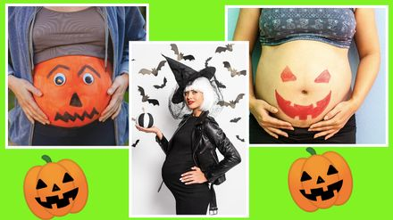 The Best Halloween Costumes When Pregnant Closer