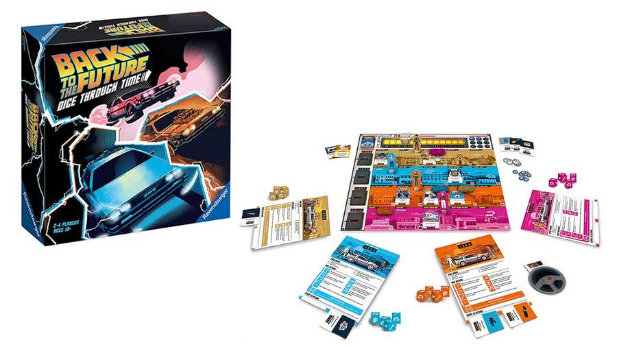 Back To The Future – Dice Through Time Board Game, £24.99