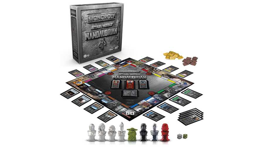 The Mandalorian Monopoly, £42.99