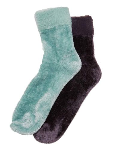 M&S, Velvet Ankle Socks, £5