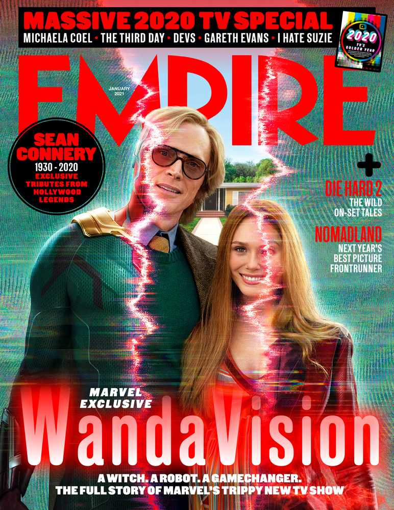Empire – January 2021 – WandaVision cover