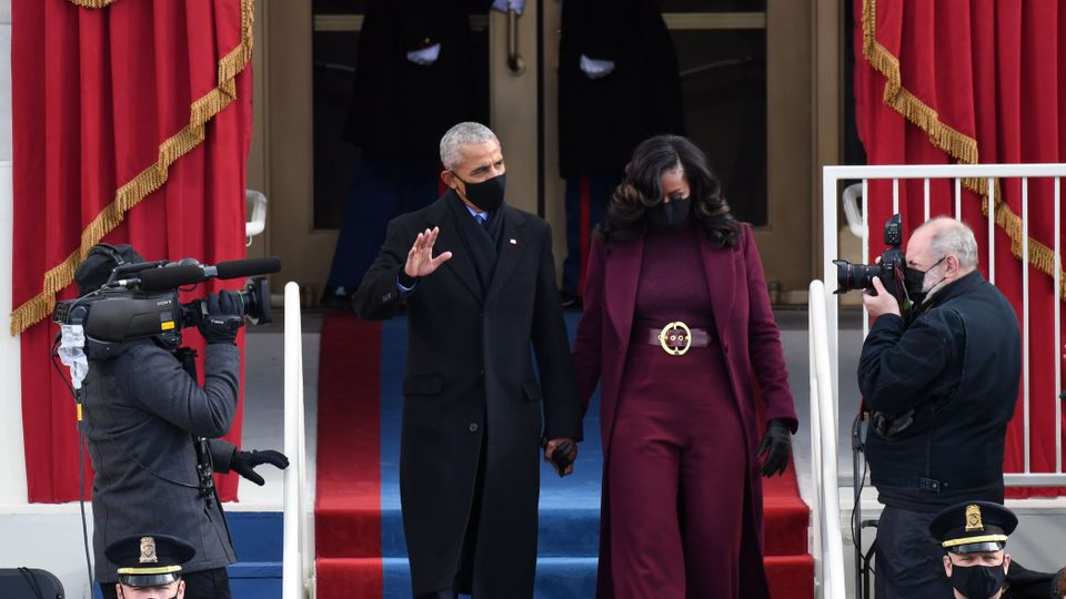 This Is Why Everyone Was Wearing Purple At The Inauguration