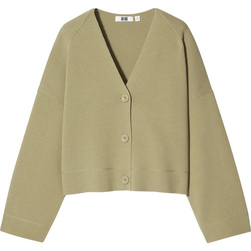 Uniqlo, Milano Ribbed V-Neck Cardigan, £34.90