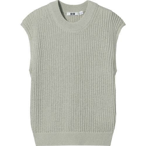 Uniqlo, Cotton-Blend Crew-Neck Sleeveless Jumper, £24.90