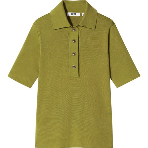 Uniqlo, Viscose-Blend Knitted Polo Shirt, £24.90
