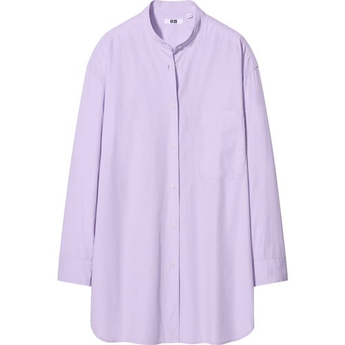 Uniqlo, Oversized Fit Long-Sleeved Shirt, £24.90