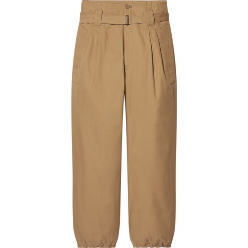 Uniqlo, Cotton-Twill Belted Trousers, £34.90