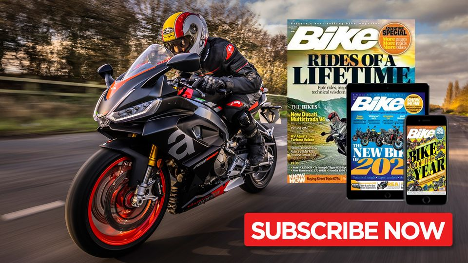 Subscribe to Bike magazine today!