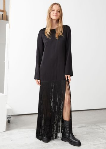 & Other Stories, Long Fringed Top, £85