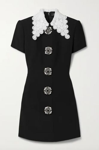 Andrew GN, Lace-Trimmed Mini Dress, £1,785