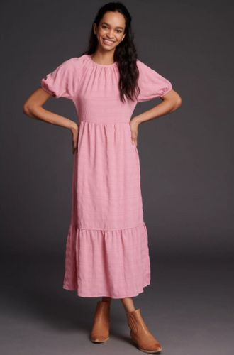 Ro&De Tiered Maxi Dress, £120 at Anthropologie