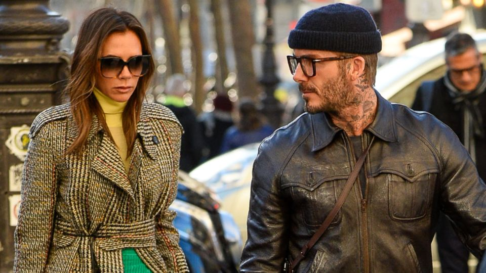 David Beckham tells Victoria: 'Give it up'