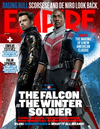 Empire May 2021 cover – The Falcon And The Winter Soldier