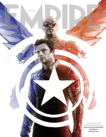 Empire May 2021 subscriber cover – The Falcon And The Winter Soldier