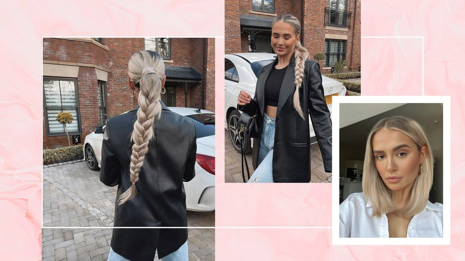 Molly-Mae Reveals The Genius Hair Trick Behind Her Signature Chunky Plait