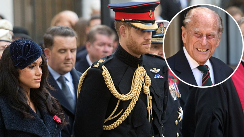Meghan Markle and Prince Harry devastated by Prince Philip's death