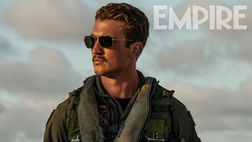 Top Gun: Maverick's Miles Teller On Inheriting Goose's Iconic Moustache – Exclusive Image
