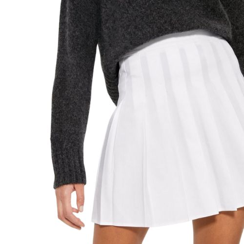 Off-White Pleated Tennis Skirt