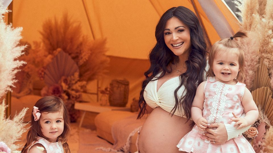 Pregnant Casey Batchelor: '3 babies in 3 years is crazy... and I want No 4 soon!'