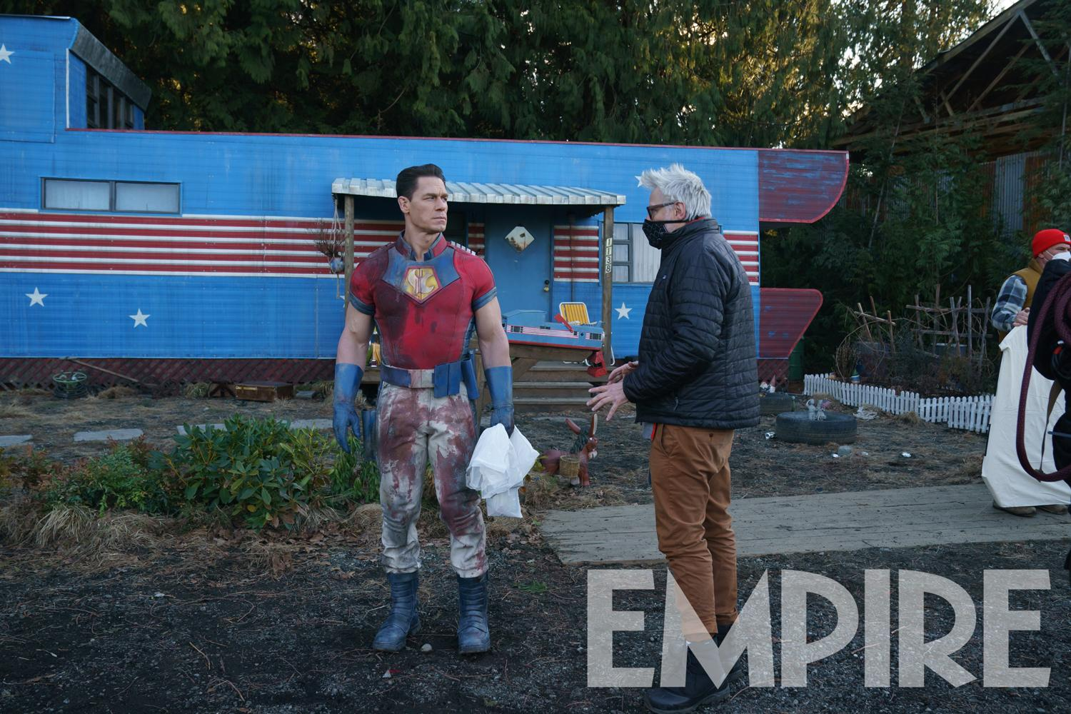 Peacemaker: First Look At John Cena In James Gunn's The Suicide Squad Spin-Off Series – World-Exclusive | TV Series | Empire